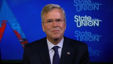 SOTU Tapper: Jeb Bush on Hillary Clinton: Smart but beatable_00005322
