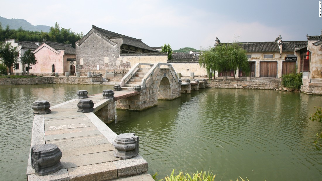 The Cheng Kan Village is a historic village located in Anhui, a province in southern China. The village was built during the Ming Dynasty. This is one of the best examples of how villages and cities were planned. This one follows an eight diagram layout -- a Taoist concept embodying yin and yang.