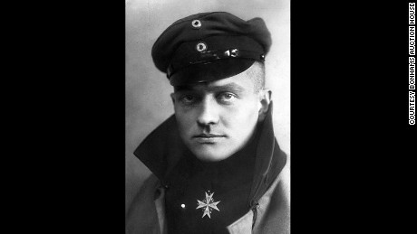 "Manfred von Richthofen, the ""Red Baron,"" was the leading flying ace of World War I."