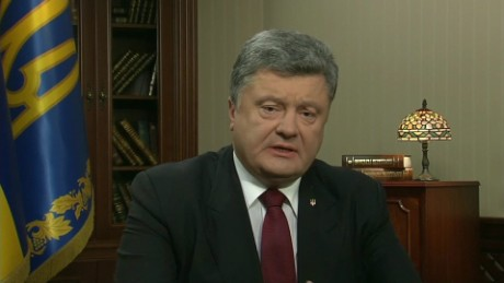 On GPS: Poroshenko talks Ukraine, Russia, and MH17
