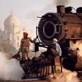 steve mccurry india train