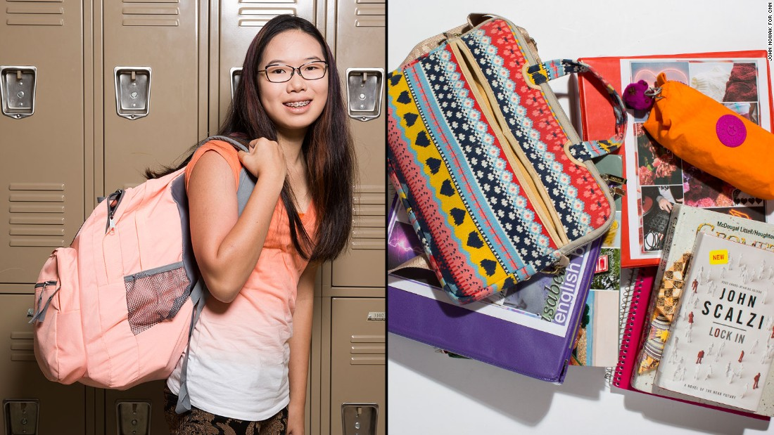 What's inside students' heavy backpacks? - CNN.com