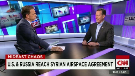 Santorum weighs in on Mideast violence The Lead LIVE_00025308
