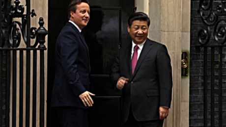 Chinese President Xi meets with British PM Cameron