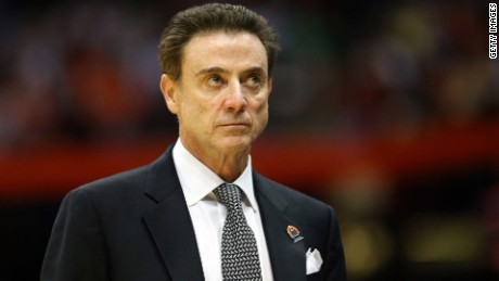 Louisville coach Rick Pitino said he was unaware of any wrongdoing.