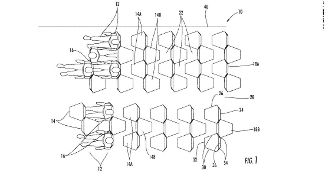 Those for whom flying means getting lost in a book or a film while politely ignoring their neighbors probably won't enjoy the designs from Zodiac Seats France.