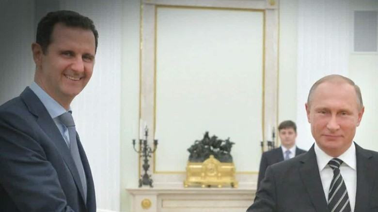 Syrian leader makes surprise visit to Russia