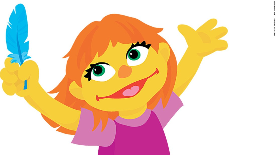 """Julia, a character who has autism,  is the newest """"Sesame Street"""" character introduced during the new <a href=""""http://autism.sesamestreet.org/index.html"""" target=""""_blank"""">Sesame Street and Autism: See Amazing in All Children</a>."""