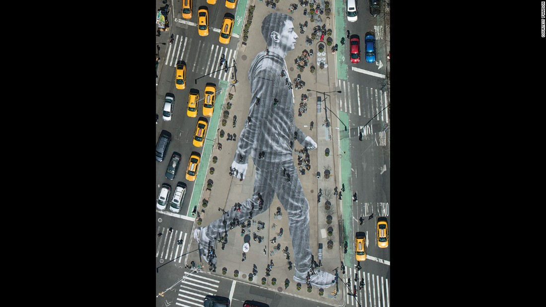 "The New York Times commissioned this piece, called ""Elmar"", for the launch of their Walking New York issue in 2015."