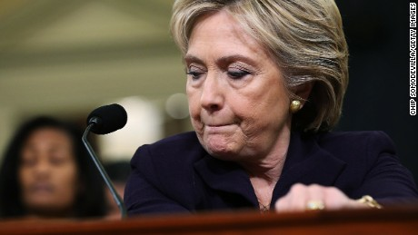 Hillary's listening face during the Benghazi hearings