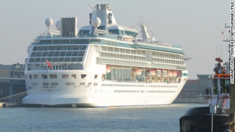 Royal Caribbean cruise ship catches fire in Mediterranean