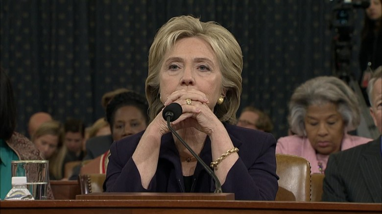 Clinton testifies before Benghazi Committee