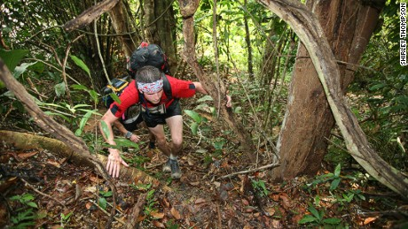 Hunger games: Fear of being eaten alive adds to the challenge of the Jungle Marathon.