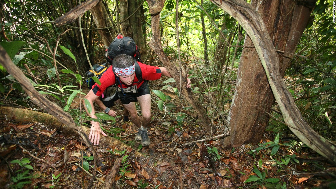 It's billed as the world's toughest jungle marathon. If the scorpions, snakes, caimans, piranhas and jaguars aren't enough, there's the 40 C temperatures and 99% humidity.