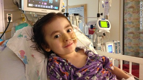"""She fought hard to be here, harder than I've seen anyone fight,"" her mother wrote of Julianna, pictured here in 2014."
