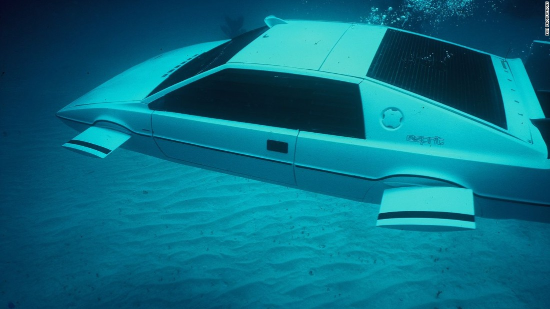 With the amphibious Lotus Esprit in <em>The Spy Who Loved Me</em>, Bond production designers created the only car to truly rival the DB5 for icon status. Elon Musk paid $860,000 for one of them in 2013.