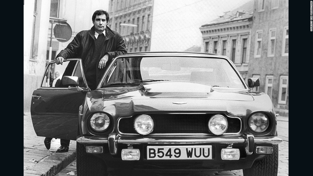 Bond's return to Aston Martin in 1987 saw Timothy Dalton take the wheel of a gadget-laden V8 Volante. Another underrated favorite of ours.<br />