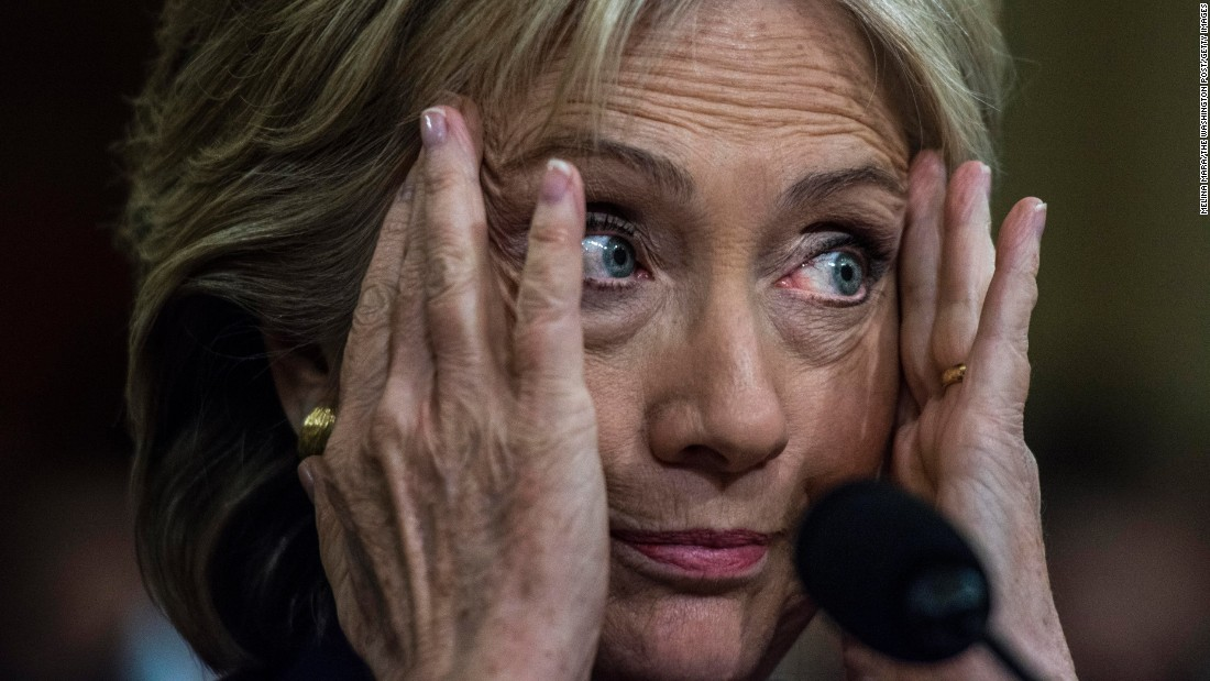 "Former U.S. Secretary of State Hillary Clinton <a href=""http://www.cnn.com/2015/10/22/politics/hillary-clinton-benghazi-hearing-updates/index.html"" target=""_blank"">testifies before the House Benghazi Committee</a> on Thursday, October 22. Clinton mounted a passionate defense of her response to the attack, which claimed the lives of four Americans in 2012. But she came under repeated criticism from Republicans who tried to prove she ignored pleas from U.S. diplomats for better security."
