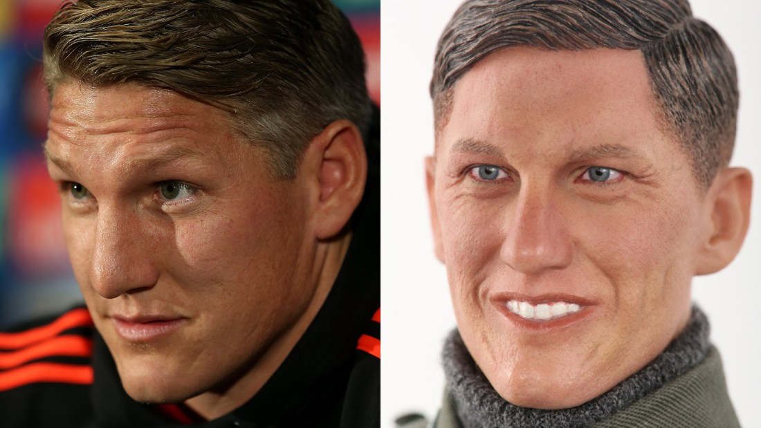 Can you pick out the real Bastian Schweinsteiger?