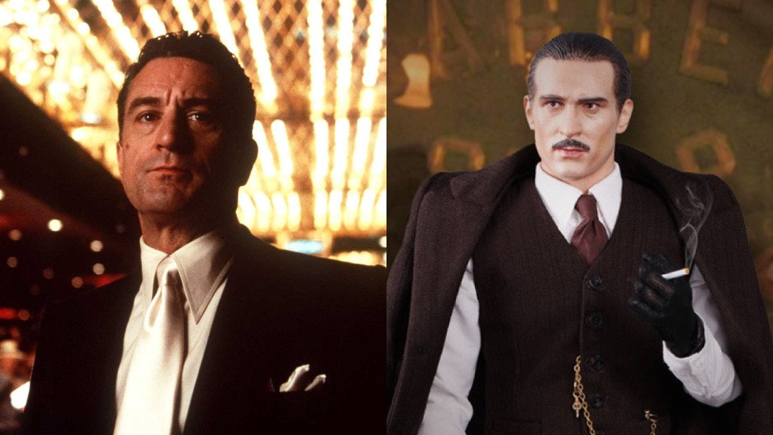 "Famous Hollywood gangster, Robert De Niro, looks at lot like ""Chicago Gangster II: Robert"" from the DiD website"