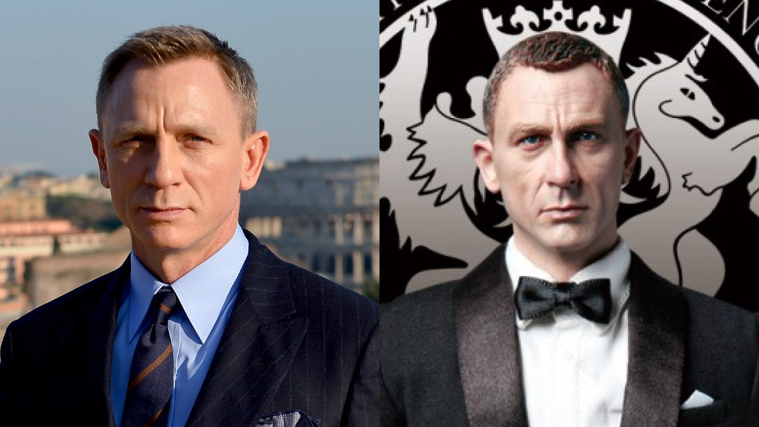 """Military Intelligence Section 6 - MI6 Agent Jack"" -- on the right -- looks eerily similar to Daniel Craig, who has played a secret agent of some renown."