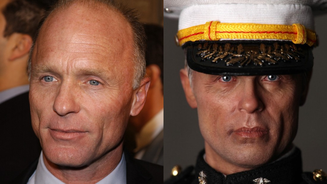 "Ed Harris or ""Brigadier General UMSC Force Recon - Frank""?"