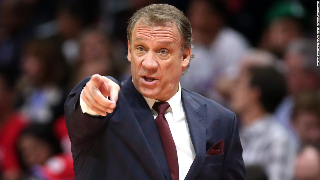 "<a href=""http://www.cnn.com/2015/10/25/us/nba-flip-saunders-obit/"" target=""_blank"">Phil ""Flip"" Saunders</a>, head coach of the NBA's Minnesota Timberwolves, died October 25, the team announced. Saunders also served as the team's president of basketball operations and part owner. He was 60. The veteran coach was being treated for Hodgkin lymphoma."