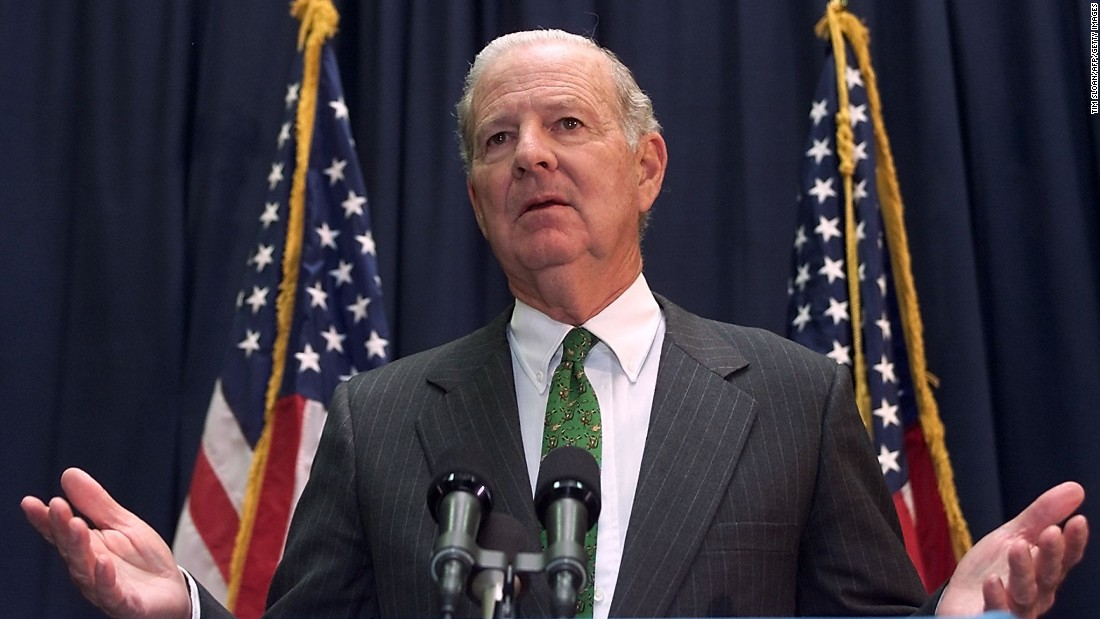 <strong>Then: </strong>James Baker served as Bush's recount chief after serving in the Reagan and George H.W. Bush administrations. He also played a large role in fighting the legal claims made by Gore's campaign over the controversy of the 2000 election.