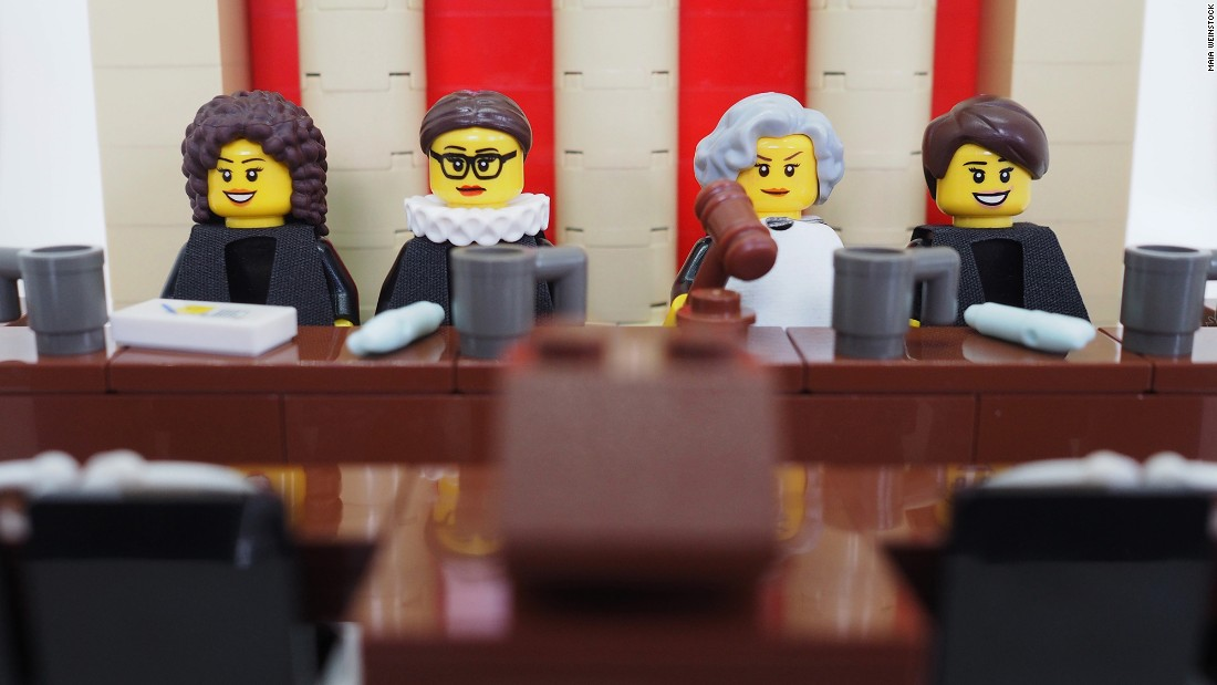 "In March 2015 deputy editor of MIT News <a href=""http://maiaw.com/scotus-women-lego-legal-justice-league.html"" target=""_blank"">Maia Weinstock created a series</a> of custom built LEGO figures of the four women who have served as justice of the U.S. Supreme Court since 1981 (when President Ronald Reagan appointed Sandra Day O'Connor as the first female ever to the role). <br />From left: Sonia Sotomayor, Ruth Bader Ginsburg, Sandra Day O'Connor and Elena Kagan."