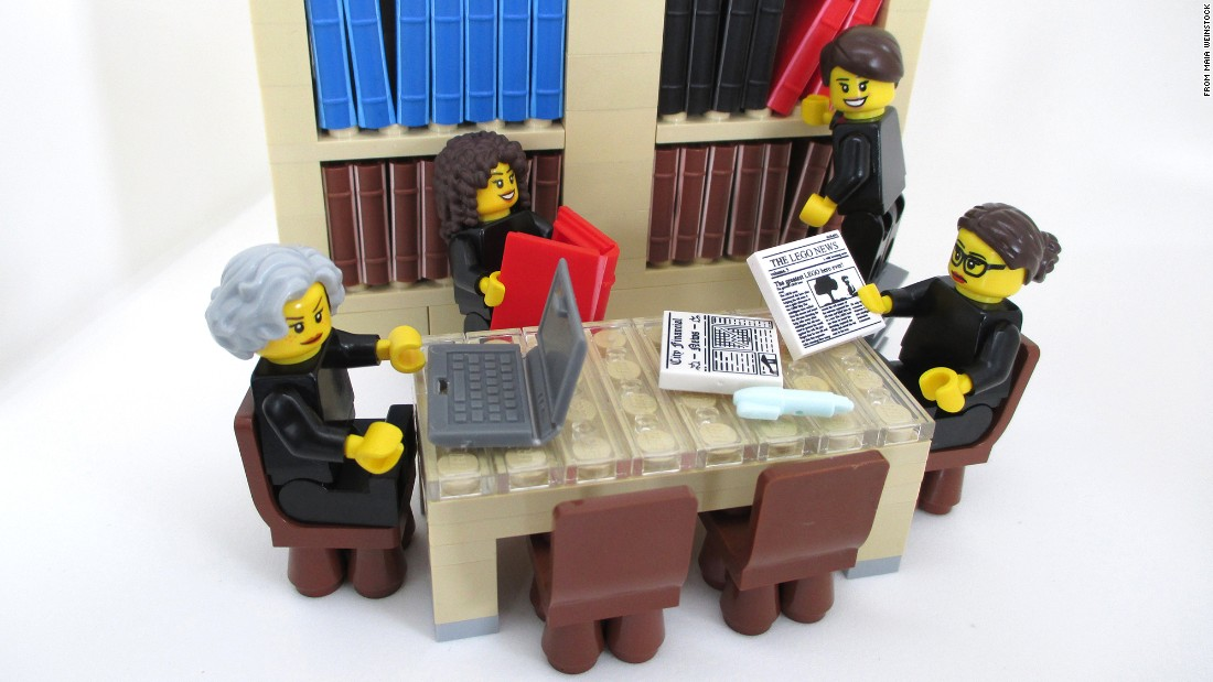 "The internet loved Weinstock's project and inquiries about how people could purchase the figures poured in but, according to an update posted on Weinstock's site, <a href=""http://maiaw.com/scotus-women-lego-legal-justice-league.html"" target=""_blank"">LEGO blocked the idea</a>."