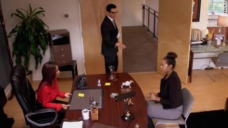 temp agency boss secretary flip carbonaro effect_00011907