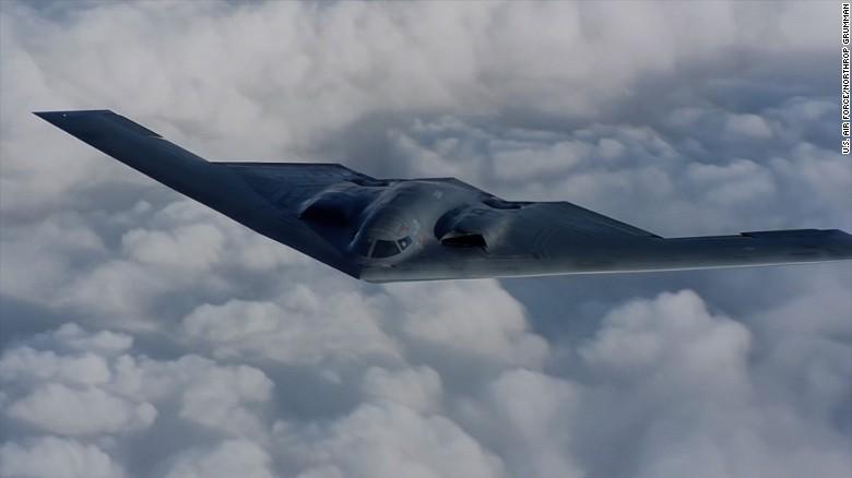 never before seen video of b 2 spirit stealth bomber