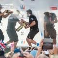 AMerica's Cup Artemins wins champagne