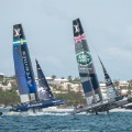 America's Cup Artemis Land Rover racing