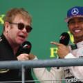 Lewis Hamilton Elton John
