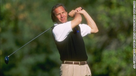 20 Dec 1996:  Kevin Costner hits the ball during the Lexus Challenge at the Citrus Course in La Quinta, California. Mandatory Credit: J. D. Cuban  /Allsport