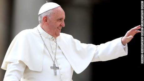 Pope Francis indicated he'd be open to a change in the rules governing eligibility for the priesthood.