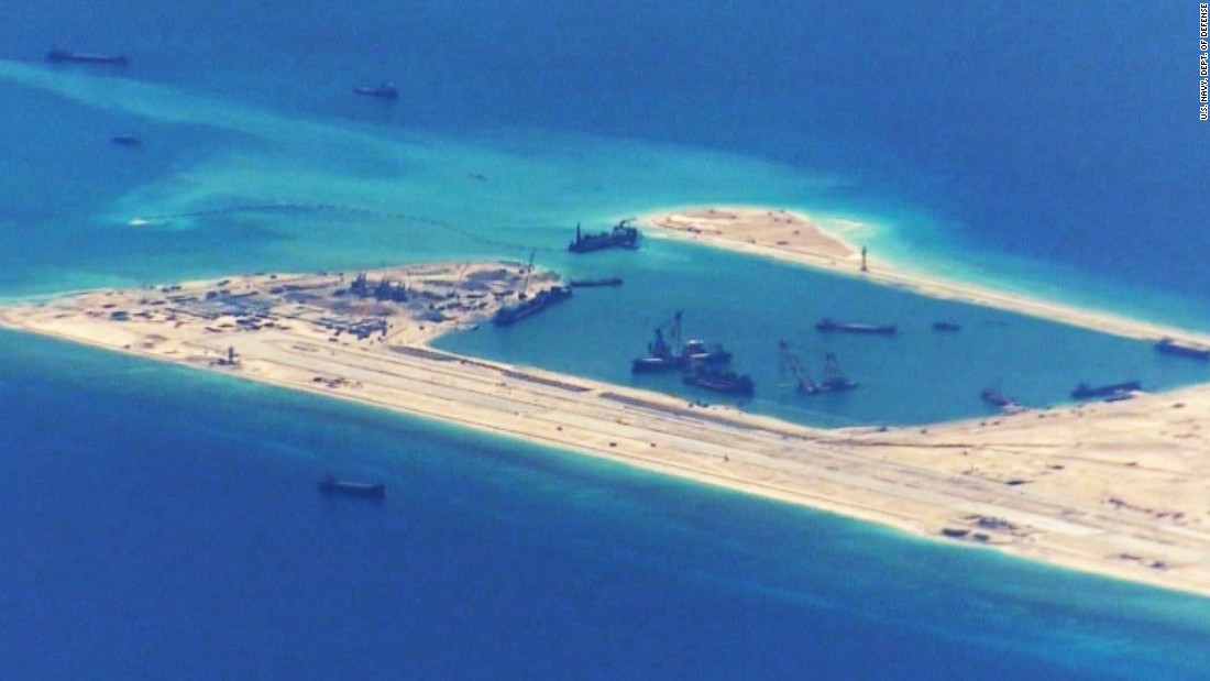 Chinese Islands In The South China Sea