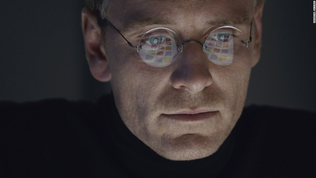 "<strong>Best screenplay<strong></strong>: </strong>Aaron Sorkin, ""Steve Jobs"""