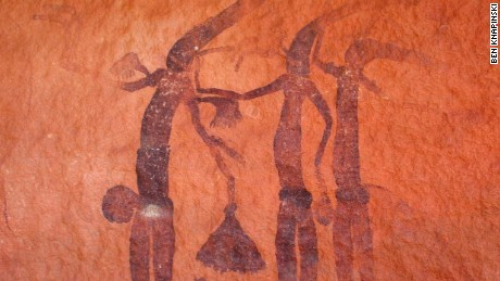 Faraway Bay is home to one of Australia's most comprehensive collections of Aboriginal rock art.