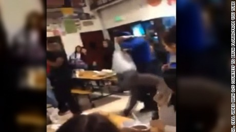 Three Florin High School students were arrested Monday for their involvement in an on-campus fight during which one of the students shoved Principal Don Ross to the floor.  Ross was trying to break up the fight in the lunch room when the student shoved him down.  Ross quickly got back on his feet and helped restrain the student who had shoved him while other authorities, including a school resource officer from the Sacramento Sheriff's Department, stepped in to help.  Two of the arrested students are 15 years old and the other is 13 years old, according to the Sacramento Sheriff's Department. Two were arrested for battery, one for making threats.