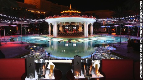 The Encore is a sister resort to Wynn Las Vegas, just next door.
