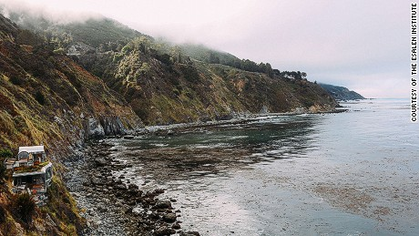 Down time: California's Esalen Institute is the third best place for silence.