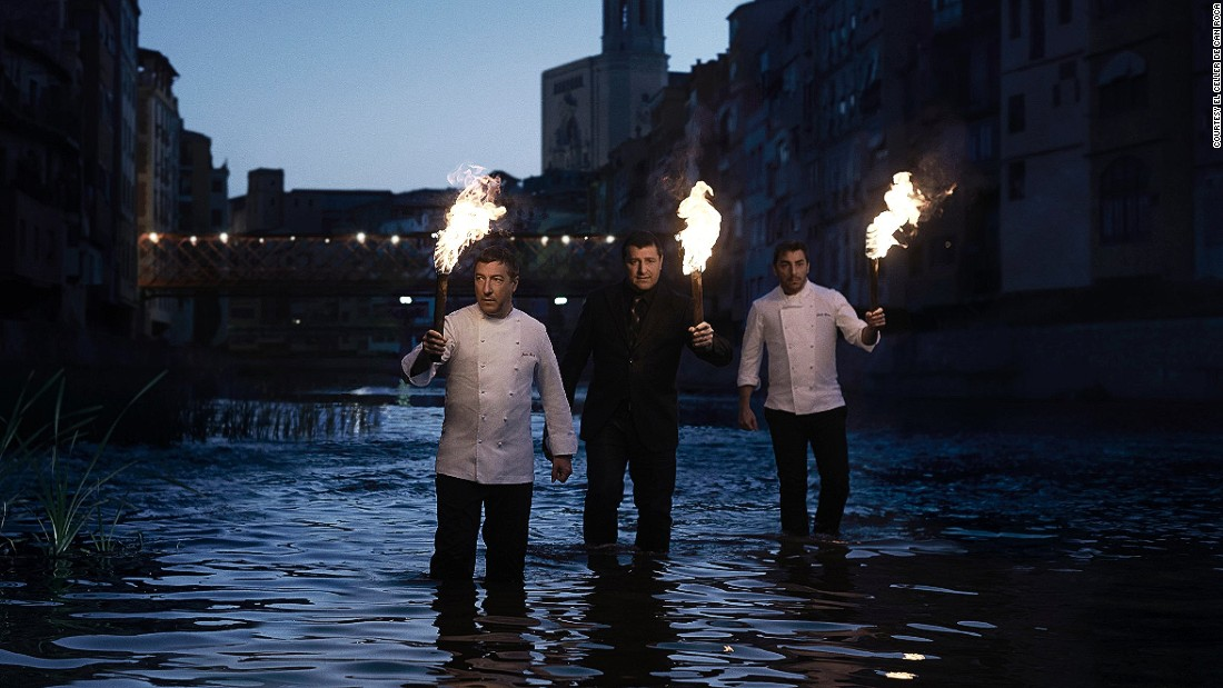 "The Roca brothers -- Joan, Jordi and Josep -- are the brainpower behind what has in recent years become the world's most popular restaurant. The Girona establishment sits at the top of the <a href=""http://www.theworlds50best.com/"" target=""_blank"">San Pellegrino</a> World's Best Restaurants list."