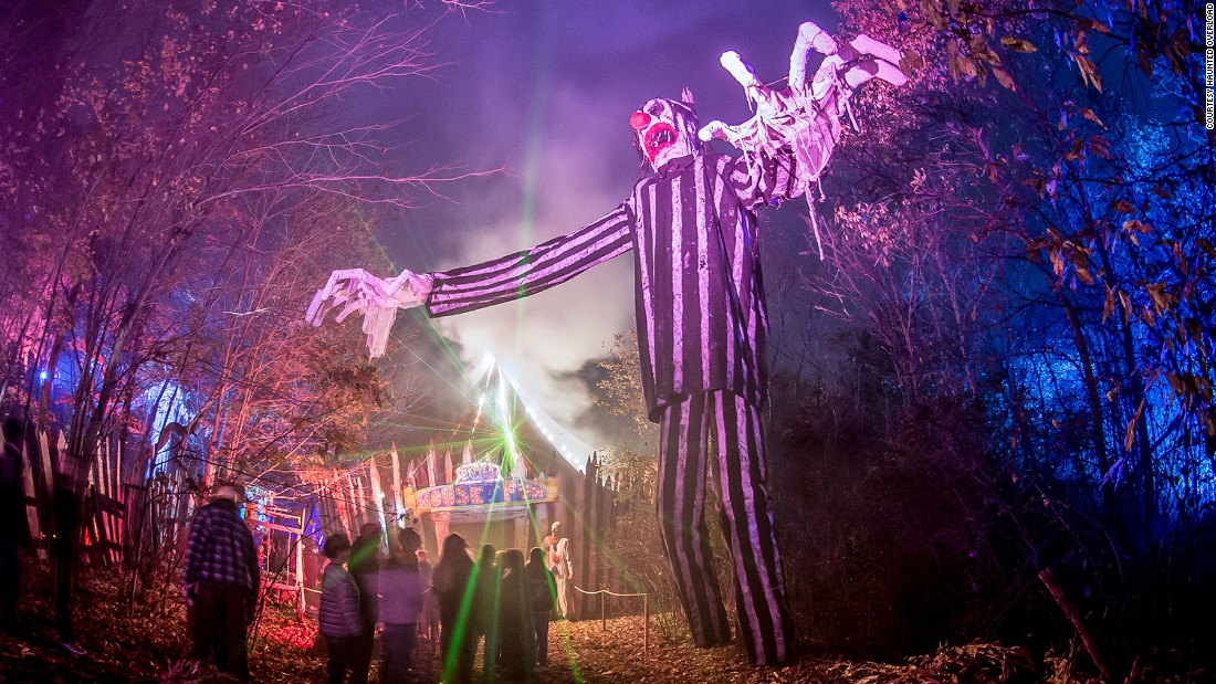 "Haunted Overload changes the layout of its trail every season. ""If you don't change things people get tired of it and you will lose customers,"" says Sadowski."