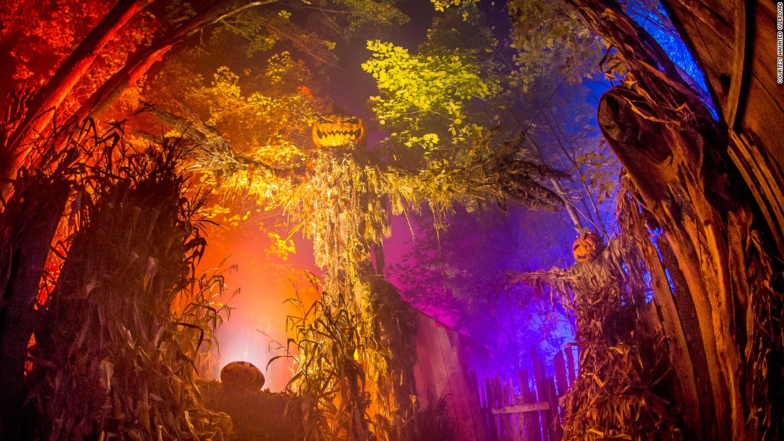 The attraction uses sounds and smells to create  truly terrifying experience for its visitors.