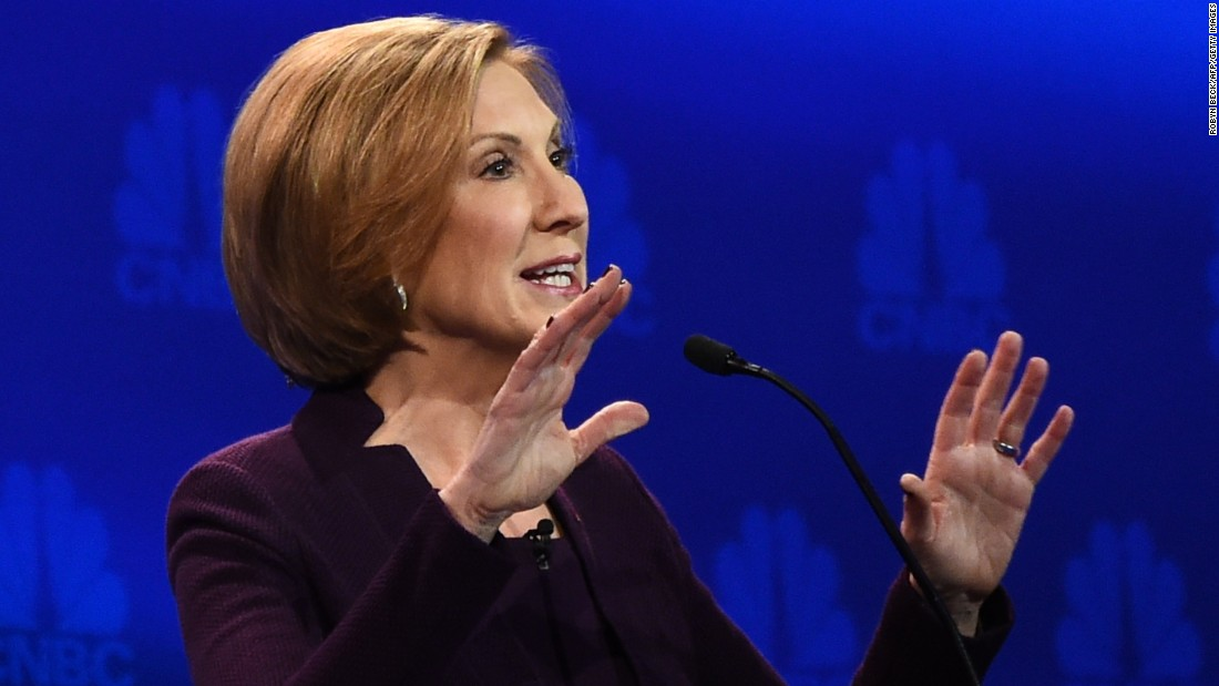 "In her closing statement, Carly Fiorina said, ""I may not be your dream candidate just yet, but I can assure you I'm Hillary Clinton's worst nightmare."""