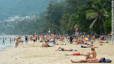 "There's no such thing as a ""quiet day at the beach"" in Patong."