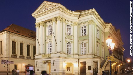 The Estates Theater showcases drama productions, ballet and opera, with a seasonal emphasis on the works of Mozart.