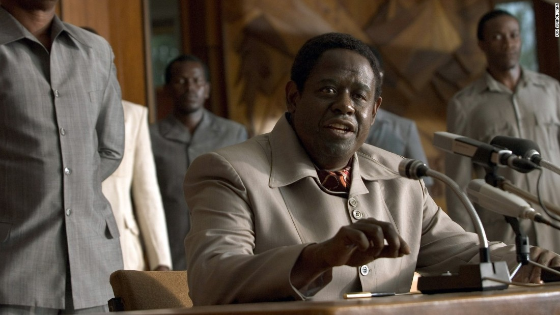 "Forest Whitaker won an Oscar for his performance as the imposing Idi Amin, the onetime ruler of Uganda, in the 2006 film ""The Last King of Scotland."""